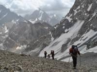 Поход в Фанские горы с восхождением на вершину Энергия  (Таджикистан, 5 105 метров) - Организации спортивных походов и восхождений, клуб спортивных путешествий Спутник, Екатеринбург