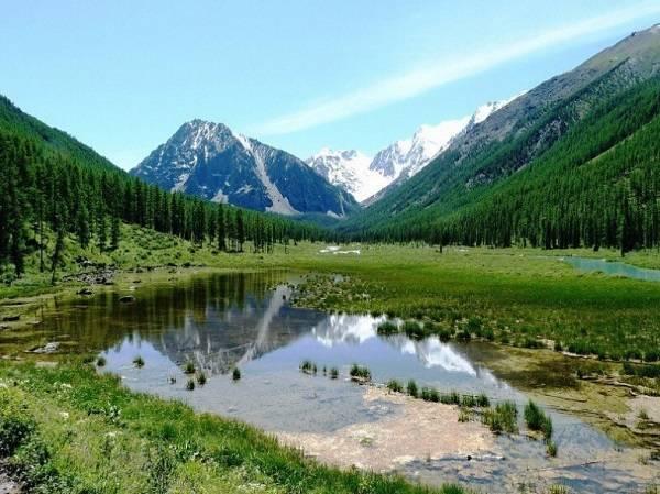 алтай, Шавлинские озёра, поход на алтай