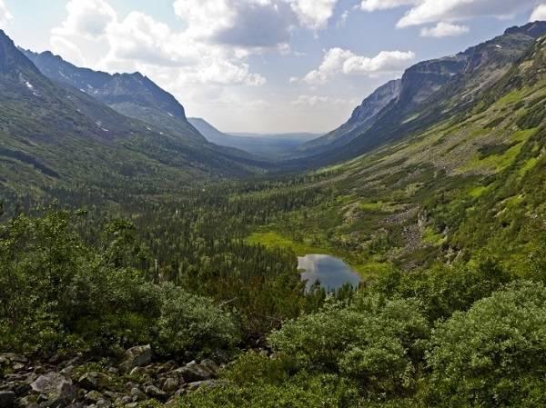 байкал, поход по байкалу, Байкальский хребет