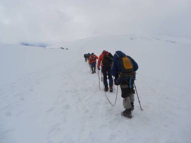 Восхождение на Эльбрус, восхождение на Эльбрус с севера