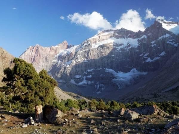 фанские горы, поход фанские горы