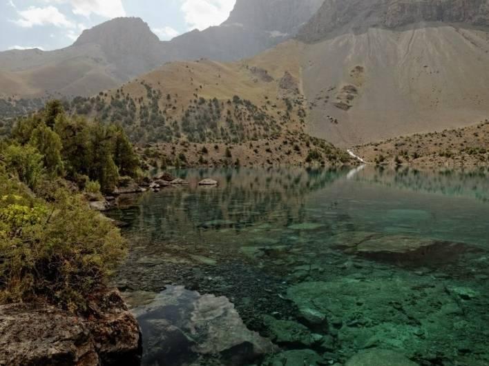 фанские горы, поход фанские горы, озёра фанские горы