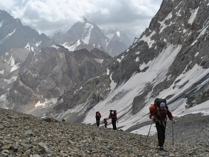 фанские горы, поход фанские горы, восхождение фанские горы