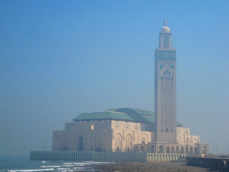 мечеть Хасана II Марокко