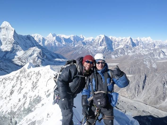 мера пик, непал, гималаи