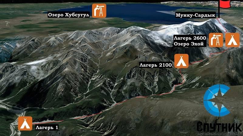 Восхождение на Мунку-Сардык