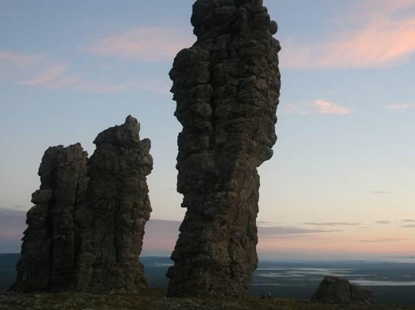северный урал, плато Маньпупунёр, поход на плато Маньпупунёр