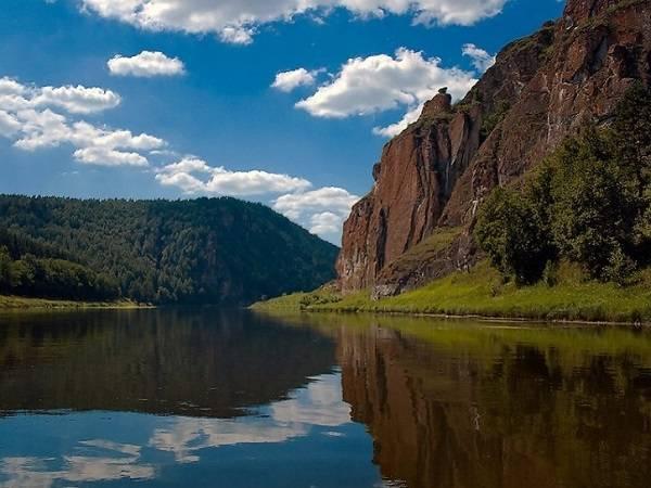 река ай, сплав по реке ай