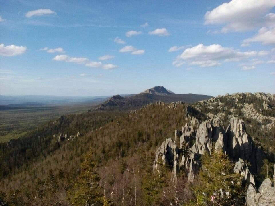Таганай, национальный парк Таганай, поход Таганай, Двуглавая