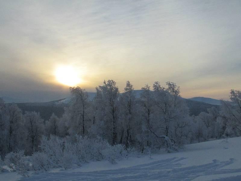 Лыжный поход на Перевал Дятлова