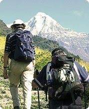Восхождение к вершине горы