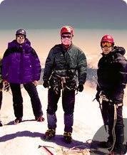 Фото на вершине после удачного восхождения