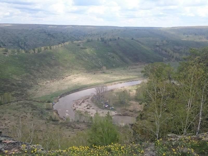 Сплав по Сакмаре, Южный Урал (водный)
