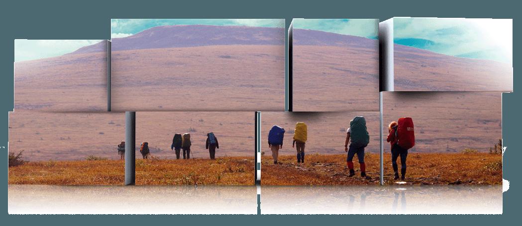 Пеший поход на перевал Дятлова